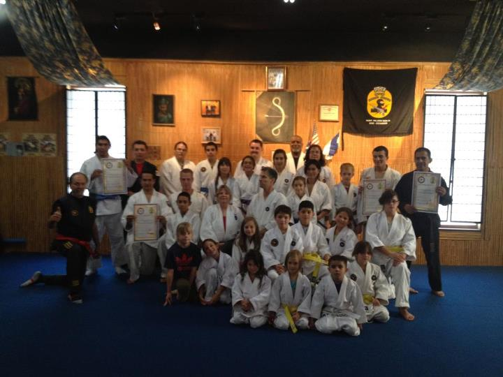 Bushidokan Kids promotion night