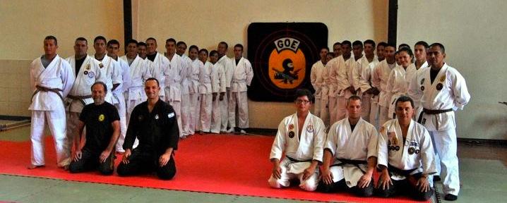 Policia Nacional de Ecuador GOE Jujitsu